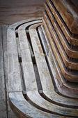 Eski ahşap sandalye — Stok fotoğraf