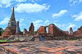 Starej świątyni — Zdjęcie stockowe