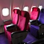 Airplane seats — Stock Photo #38804849
