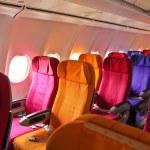 Airplane seats — Stock Photo #38804913