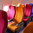 airplane seats — Stock Photo #38804953