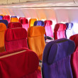 airplane seats — Stock Photo #38805005