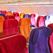 airplane seats — Stock Photo #38805033