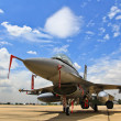Stock Photo: F-16 airplane