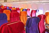 Vliegtuig zitplaatsen — Stockfoto