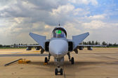 JAS 39 Gripen — Stock Photo
