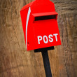 Red Mail box — Stock Photo #38813795