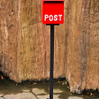 Red Mail box — Stock Photo #38814403