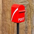 Red Mail box — Stock Photo #38814423