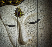 Buddha face — Stock Photo
