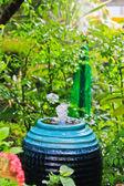 Fountain in the garden. — Stock Photo