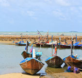 Fishing boats — Foto de Stock