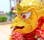 Statue garuda fairy tale animal — Stock Photo