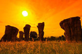Stonehenge of Thailand — Stock Photo