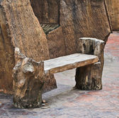 Wood chair — Photo