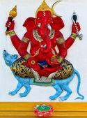 Elephant-headed god Chachoengsao — Stockfoto