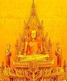 Buddha gold — Stock Photo