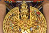 Guan Yin with ten thousand hands — Stock Photo