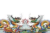 Dragon decoration — Stock Photo