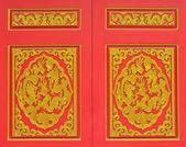 Door dragon — Foto de Stock