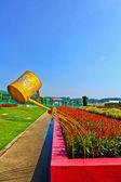 Flower garden — Stock Photo