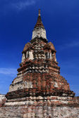 Ruined ancient pagoda — Photo