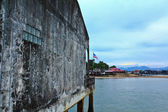 Waterfront home. — Stockfoto