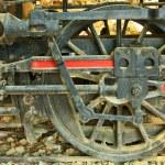 Old steam locomotive. — Stock Photo #43636841