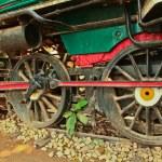 Old steam locomotive. — Stock Photo #43637267
