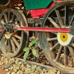 Old steam locomotive. — Stock Photo #43637377