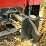 Old steam locomotive. — Stock Photo #43637869