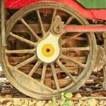 Old steam locomotive. — Stock Photo #43639323