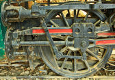 Old steam locomotive. — ストック写真