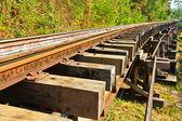 Death railway — Stock Photo