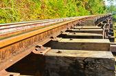Death railway — Stockfoto
