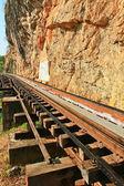 Смертельная железная дорога — Стоковое фото
