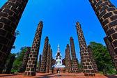 Buda branco — Fotografia Stock