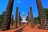 Buddha bianco — Foto Stock