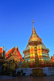 Temple Thai Wat Doi Suthep — Stock Photo