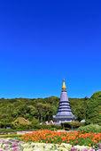 Pagoda di Doi inthanon — Foto Stock