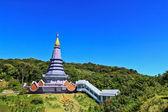 Doi Inthanon Pagoda — Stock Photo