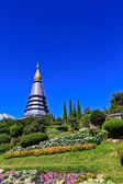 Doi Inthanon Pagoda — Stock Photo