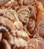 Wood carving Chonburi — Stock Photo