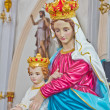 Blessed Virgin Mary with baby Jesus — Stock Photo #47938851