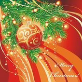 Beautiful Christmas background. — Stock Vector