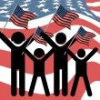 American day — Stock Photo