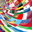 Foto de Stock  : Flags of the WORLD