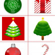 Christmas background design — Foto Stock