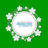 Spring design — Stockfoto