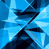 Blue abstract vector design — Stockvektor